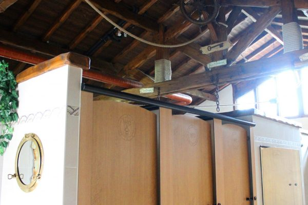 Camping Eskualduna : Sanitaire Interieur