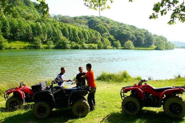 Camping Eskualduna : Bandeau Lac