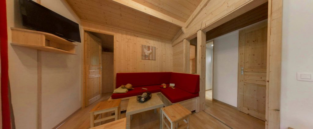 Camping Eskualduna : Chalet Eco Confort 6