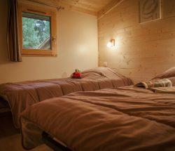 Camping au Pays basque Eskualduna : Chalet Eco Lodge
