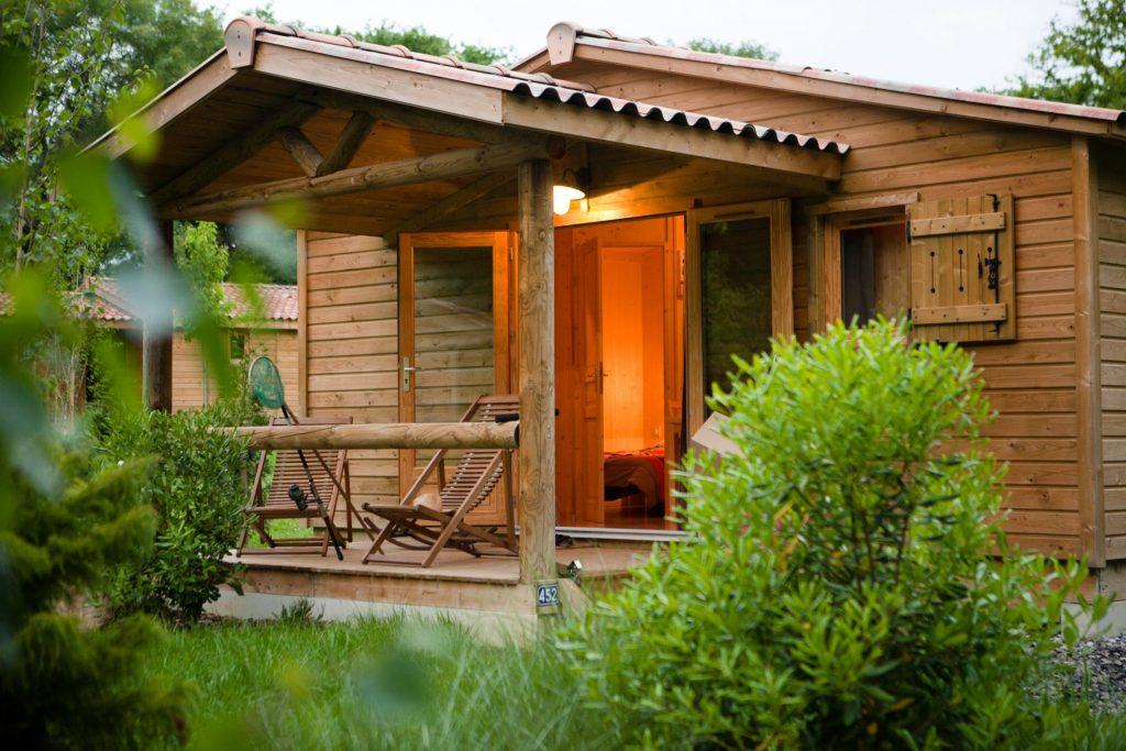 Camping Eskualduna : Chalet Eco Nature 2