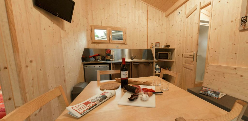 Camping Eskualduna : Chalet Eco Nature Int®r3