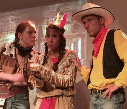 Camping Eskualduna : Cowboy Indiens