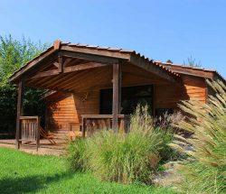 Camping Eskualduna à Hendaye : Chalet Eco Confort