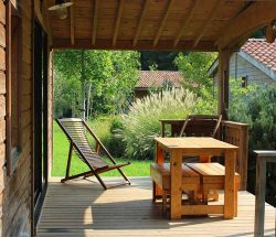 https://www.camping-eskualduna.fr/hebergement/chalet-eco-lodge-2-chambres/ : Ecolodge3