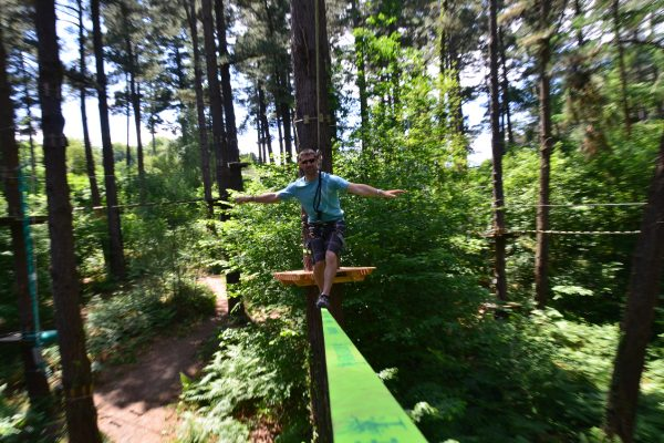 Camping Eskualduna : Slackline