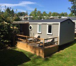 Camping Eskualduna : Terrasse Loggia2
