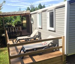 Camping Hendaye  Eskualduna : Terrasse Loggia3