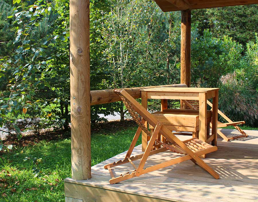 Camping Eskualduna : Terrasseconature1