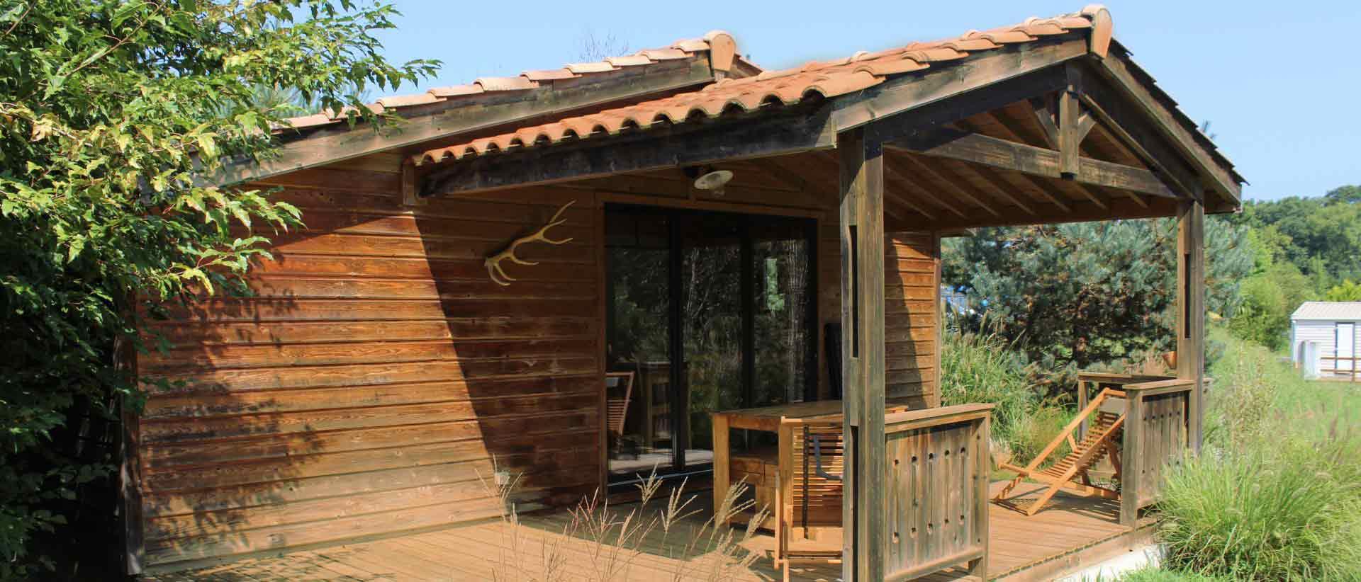 Camping Eskualduna Chalet Eco confort