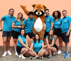 Equipe d'animation du Camping Eskualduna